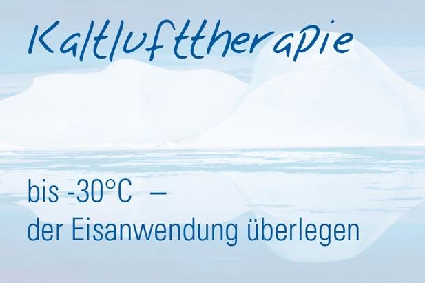 Kaltlufttherapie